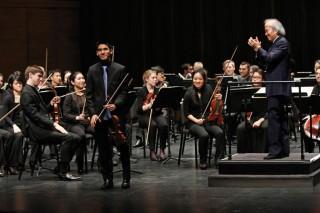 Tadaaki Otaka conducts the Juilliard Orchestra