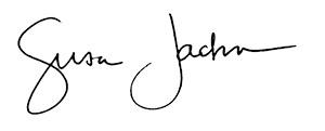 Susan Jackson signature